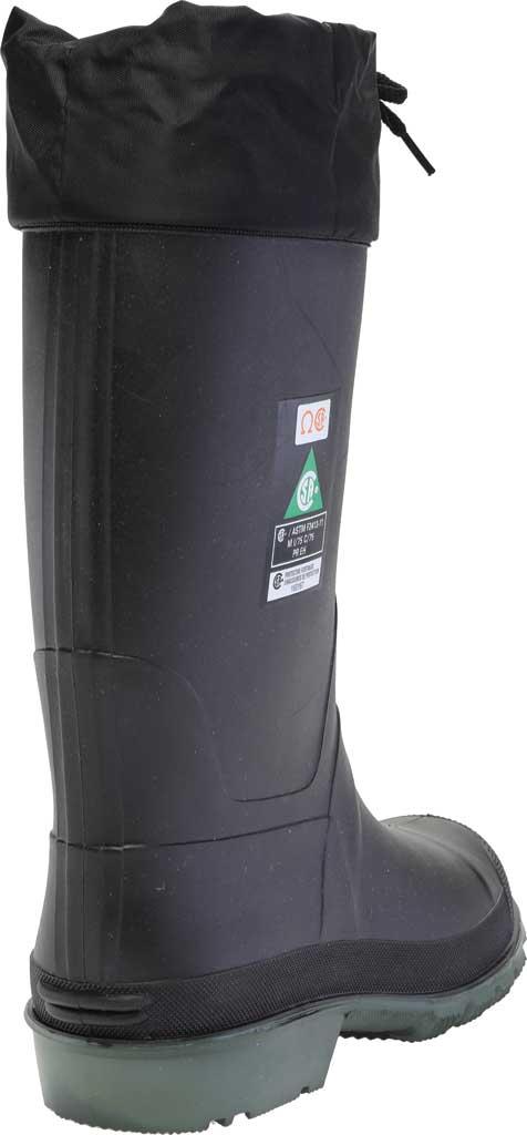 Men's Baffin Hunter -40 STP Work Boot, Black/Green, large, image 4