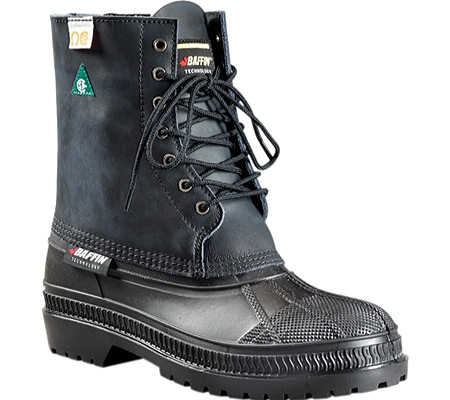 Men's Baffin Whitehorse -40 Safety Toe and Plate Boot, Black, large, image 1