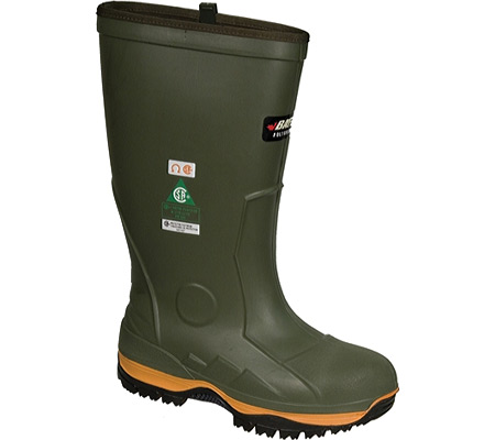 Men's Baffin Ice Bear Safety Toe and Plate Boot, Forest/Orange/Black, large, image 1