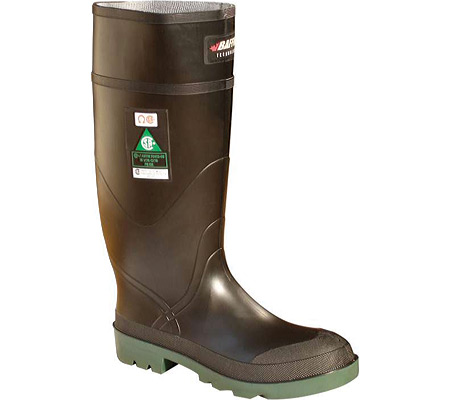 """Men's Baffin Digger 15"""" Safety Toe and Plate Boot, Black/Green, large, image 1"""