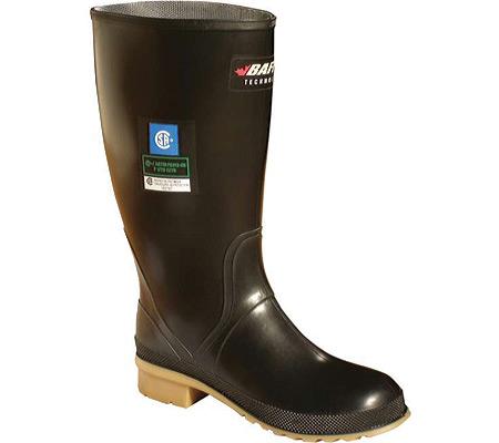Women's Baffin Processor Waterproof Steel Toe Boot, Black Camel, large, image 1