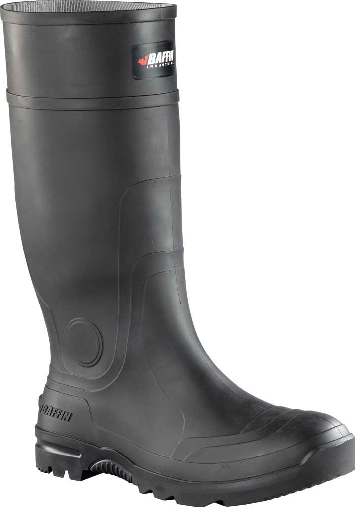 Men's Baffin Blackhawk PLN Waterproof Wellington Boot, Black, large, image 1