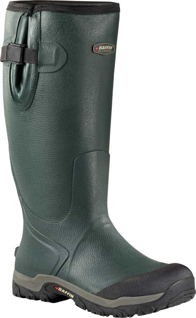 Men's Baffin Backwood Waterproof Wellington Boot, Forest Green, large, image 1