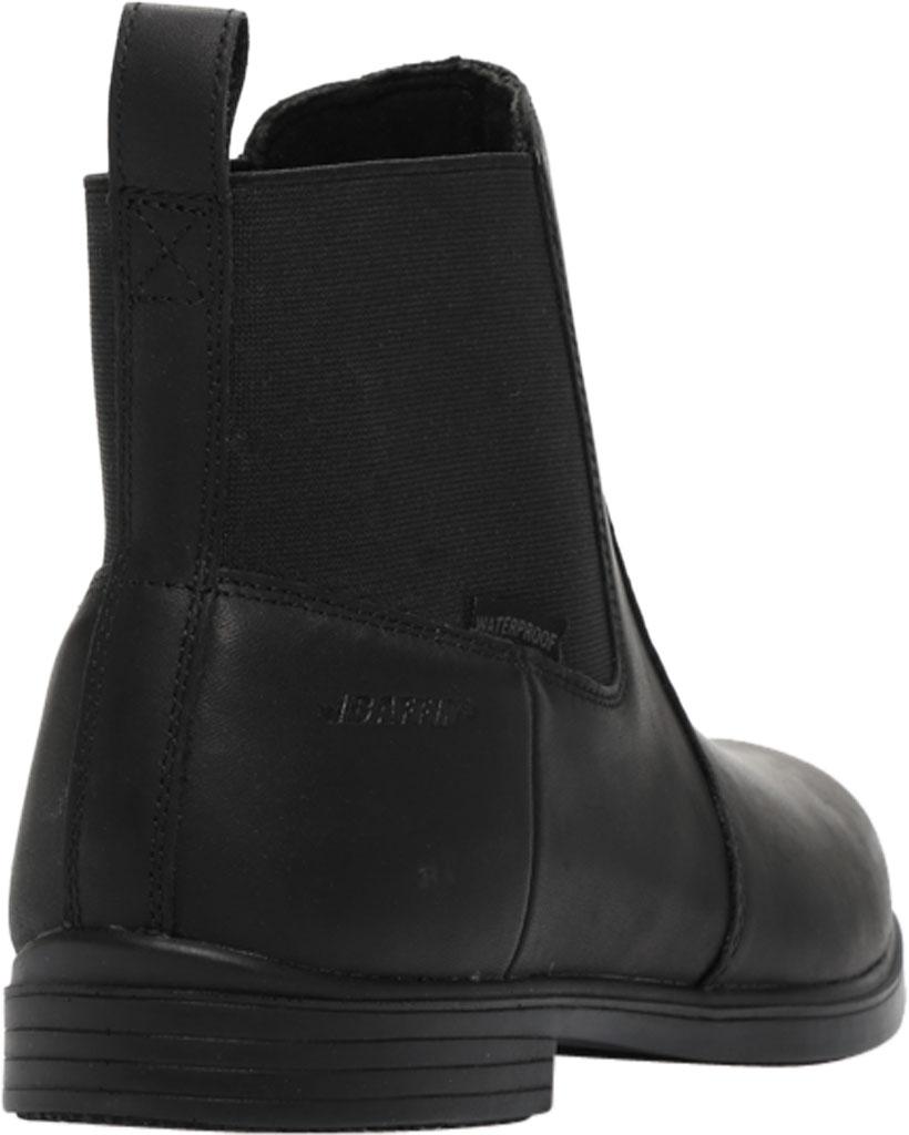 Women's Baffin Chelsea Waterproof Boot, Black, large, image 4