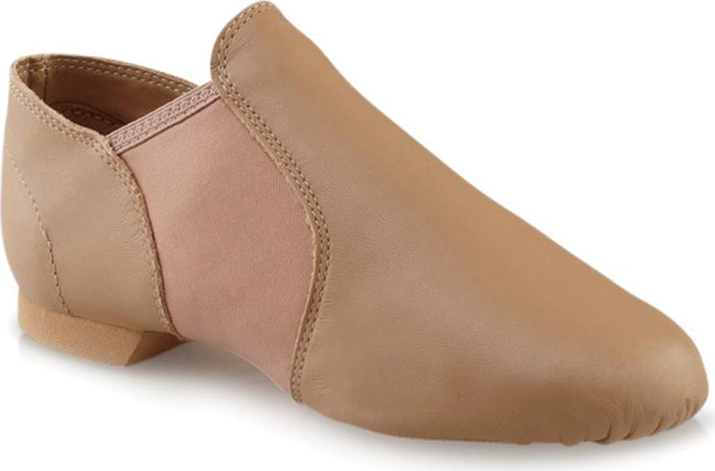Children's Capezio Dance E Series Jazz Slip On EJ2C, Caramel, large, image 1