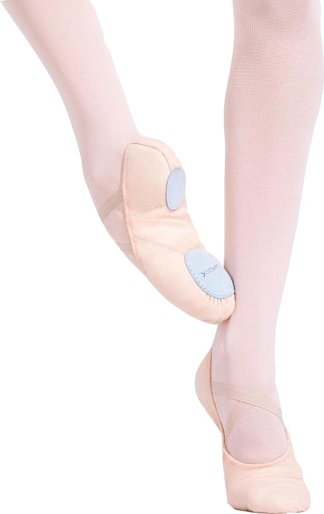 Girls' Capezio Dance Juliet 2028C, Light Ballet Pink, large, image 1