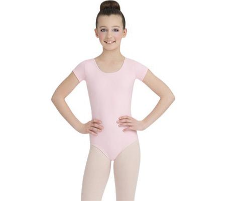 Girls' Capezio Dance Short Sleeve Leotard TB132C (Set of 2), , large, image 1