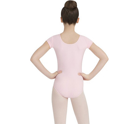 Girls' Capezio Dance Short Sleeve Leotard TB132C (Set of 2), , large, image 2