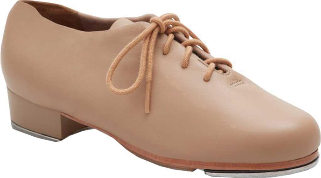 Girls' Capezio Dance Tic Tap Toe Shoe, Caramel, large, image 1