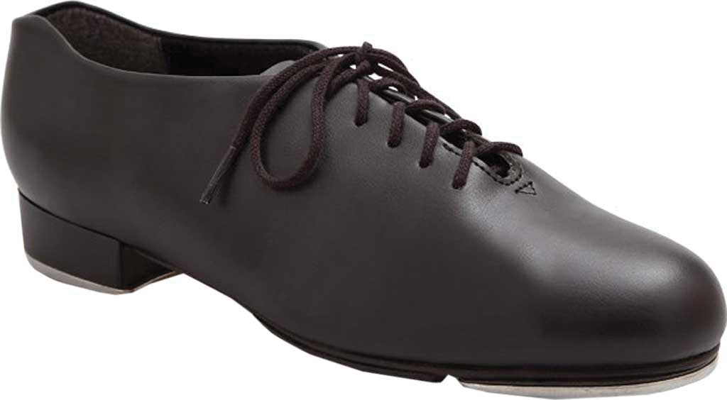Girls' Capezio Dance Tic Tap Toe Shoe, Black, large, image 1