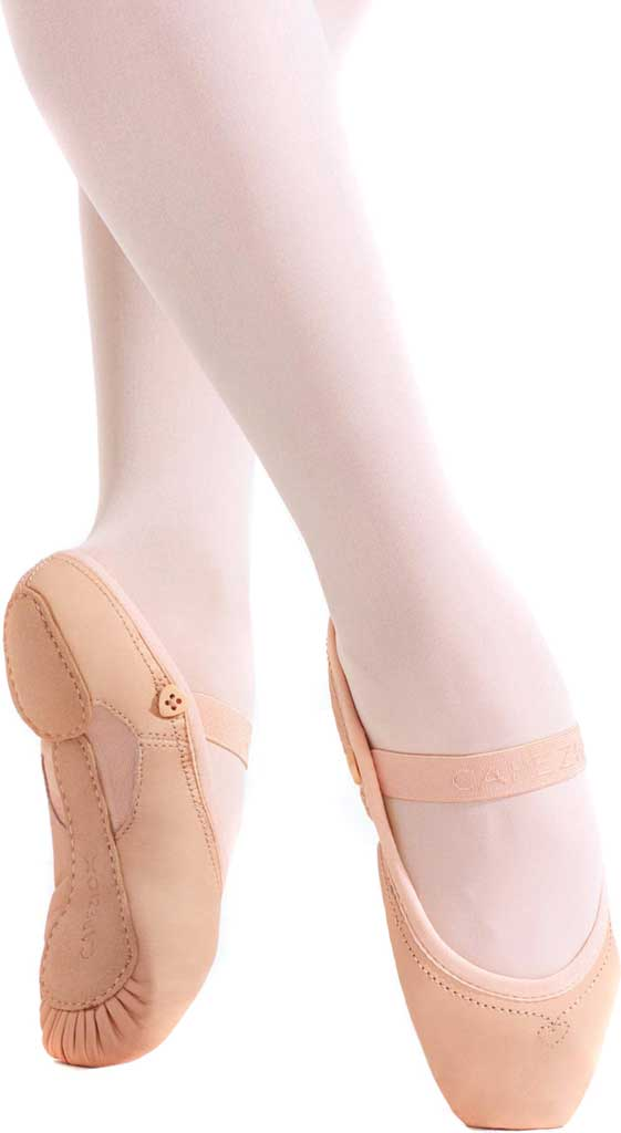 Girls' Capezio Dance Love Ballet Shoe, Ballet Pink, large, image 1