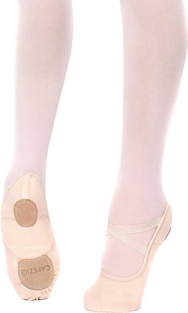 Girls' Capezio Dance Hanami Ballet Shoe, Light Pink, large, image 1