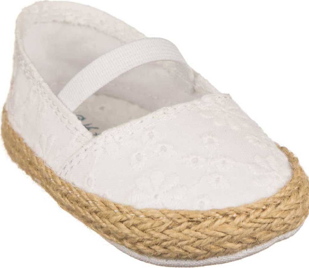 Infant Polo Ralph Lauren Bowman Espadrille, White Synthetic, large, image 1