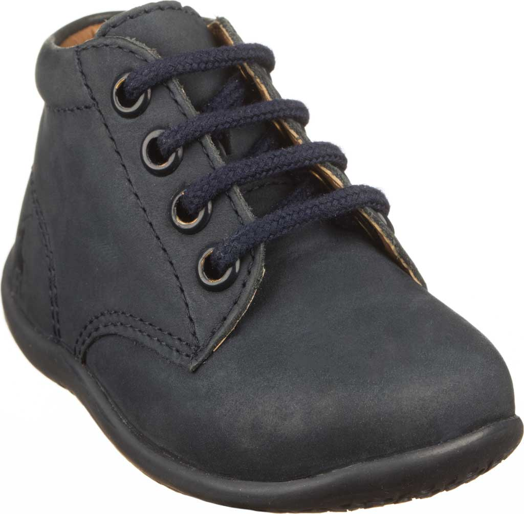 Infant Polo Ralph Lauren Kinley Hi Top Bootie - Toddler, Navy Leather, large, image 1