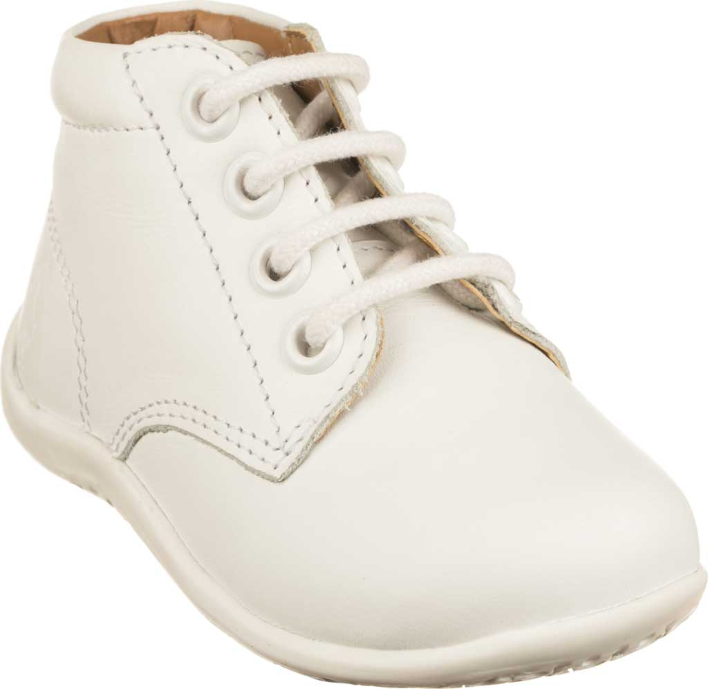 Infant Polo Ralph Lauren Kinley Hi Top Bootie - Toddler, White Leather, large, image 1