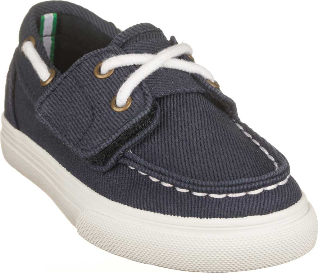Children's Polo Ralph Lauren Bridgeport EZ Deck Shoe - Little Kid, Navy Canvas, large, image 1