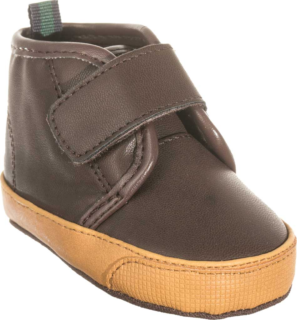Infant Boys' Polo Ralph Lauren Chett EZ Sneaker - Baby, Chocolate Polyurethane, large, image 1