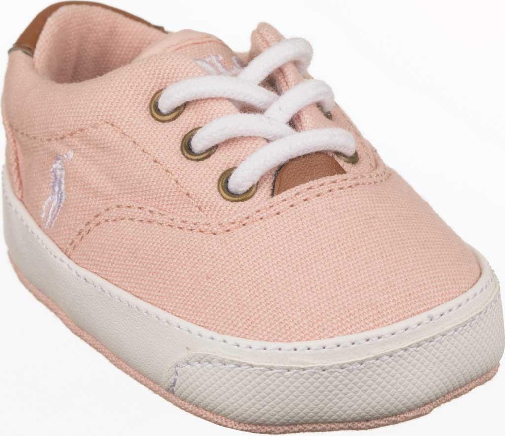 Infant Girls' Polo Ralph Lauren Vaughn II Sneaker - Baby, Blush Corduroy, large, image 1