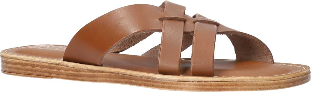 Women's Bella Vita Kin-Italy Flat Slide, Whiskey Italian Leather, large, image 1