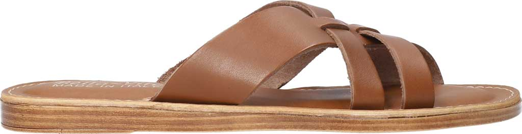 Women's Bella Vita Kin-Italy Flat Slide, Whiskey Italian Leather, large, image 2