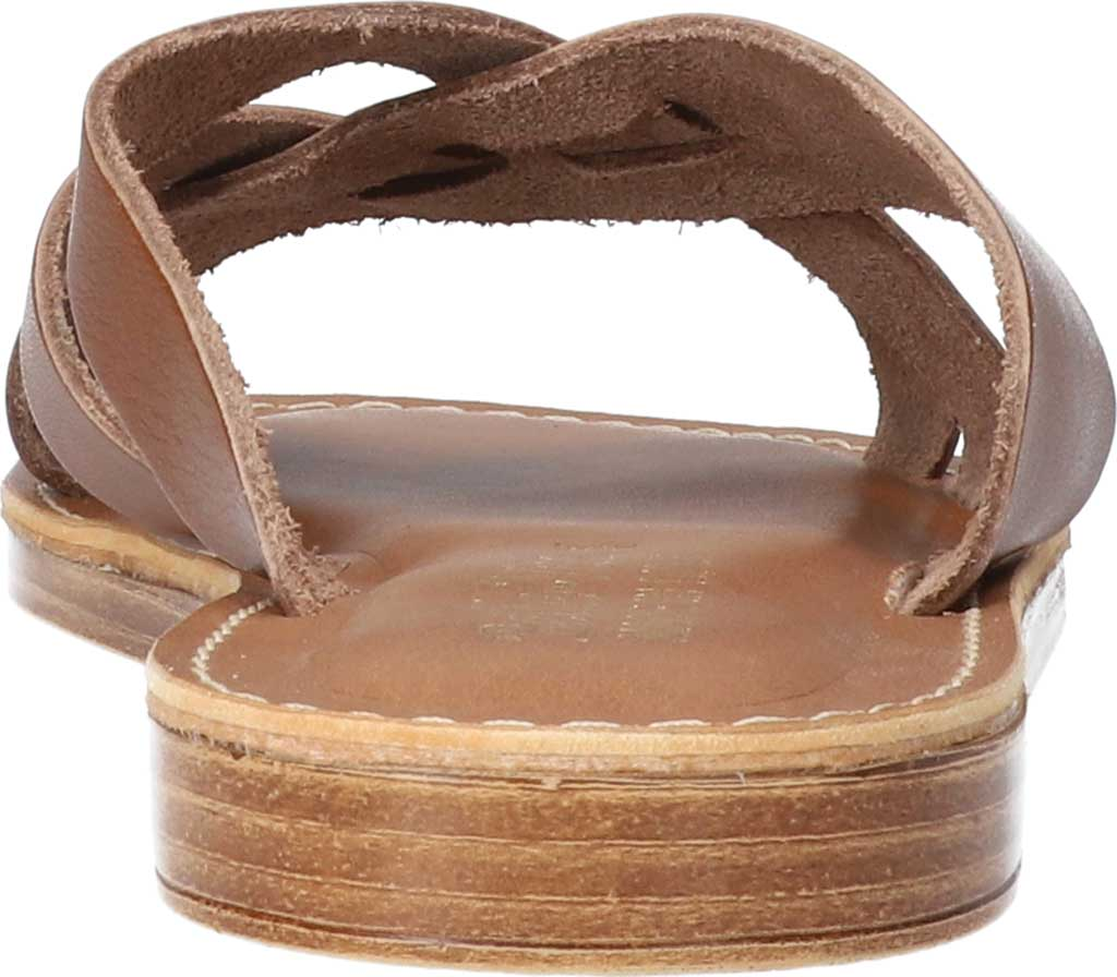 Women's Bella Vita Kin-Italy Flat Slide, Whiskey Italian Leather, large, image 4
