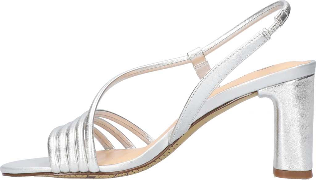 Women's Bella Vita Zariah Strappy Sandal, Silver Leather, large, image 3