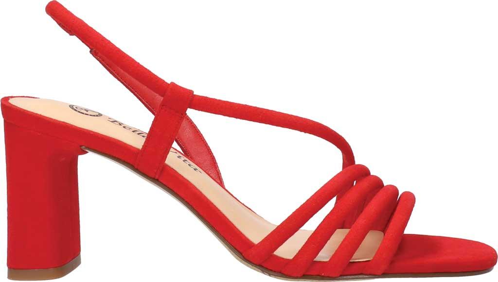 Women's Bella Vita Zariah Strappy Sandal, Red Kidsuede, large, image 2