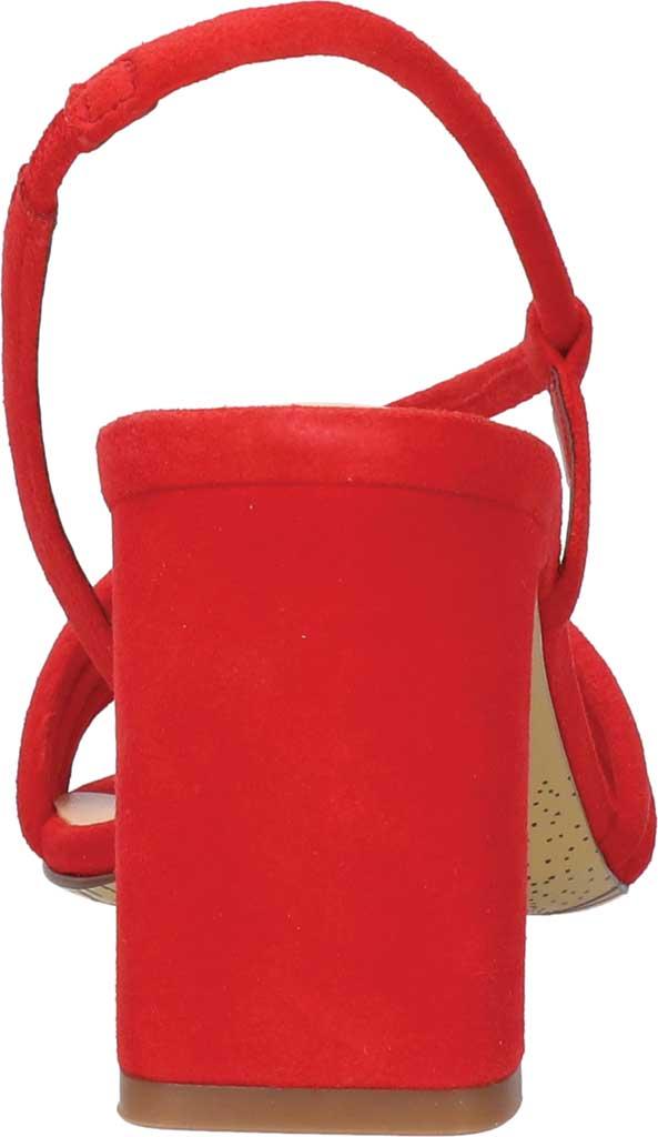 Women's Bella Vita Zariah Strappy Sandal, Red Kidsuede, large, image 4