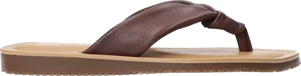 Women's Bella Vita Cov-Italy Thong Sandal, Brown Italian Leather, large, image 2