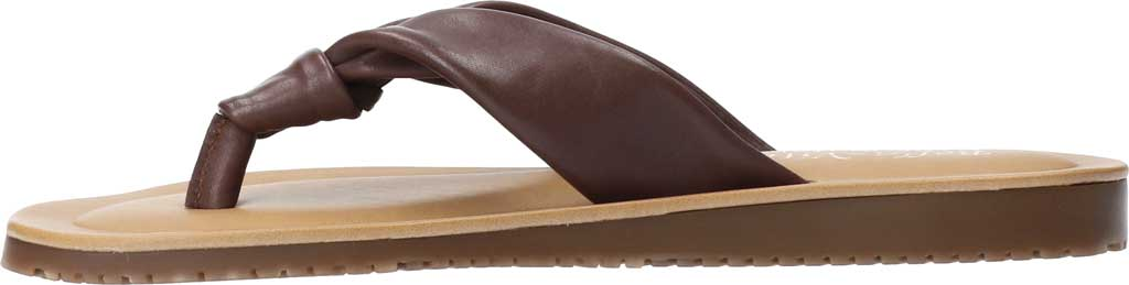 Women's Bella Vita Cov-Italy Thong Sandal, Brown Italian Leather, large, image 3