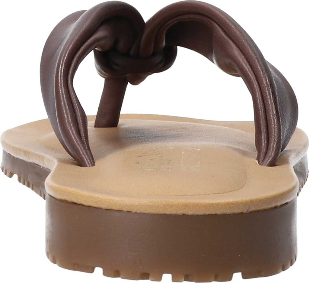 Women's Bella Vita Cov-Italy Thong Sandal, Brown Italian Leather, large, image 4