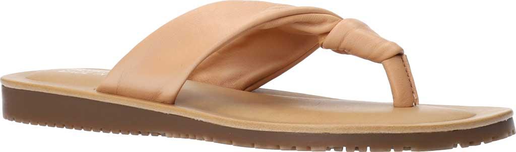 Women's Bella Vita Cov-Italy Thong Sandal, Natural Italian Leather, large, image 1