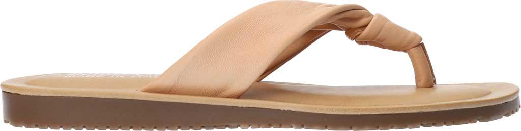 Women's Bella Vita Cov-Italy Thong Sandal, Natural Italian Leather, large, image 2