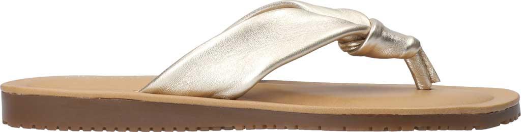 Women's Bella Vita Cov-Italy Thong Sandal, Champagne Italian Leather, large, image 2