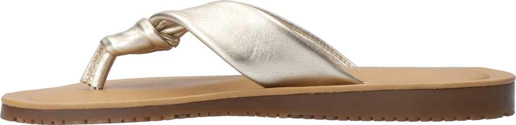 Women's Bella Vita Cov-Italy Thong Sandal, Champagne Italian Leather, large, image 3