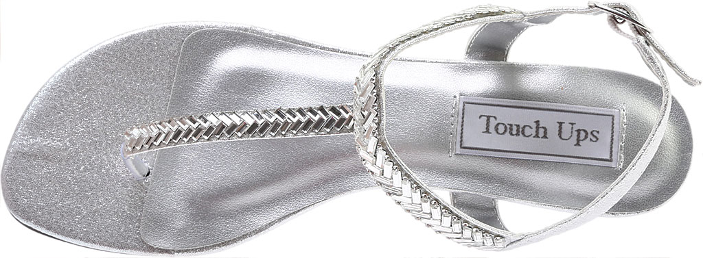 Women's Touch Ups Kendra, Silver Shimmer, large, image 5