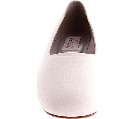 Women's Dyeables Grace, White Luxe (Peau de Soie), large, image 4