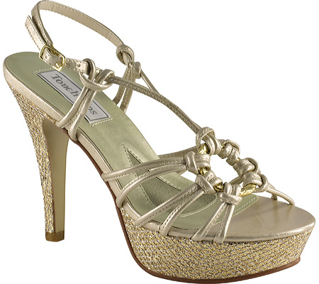 Women's Touch Ups Cassidy, Champagne Metallic, large, image 1