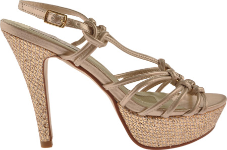 Women's Touch Ups Cassidy, Champagne Metallic, large, image 2