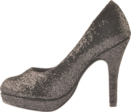 Women's Touch Ups Candice, Black Shimmer, large, image 3