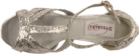 Women's Dyeables Samara, Silver Glitter, large, image 6