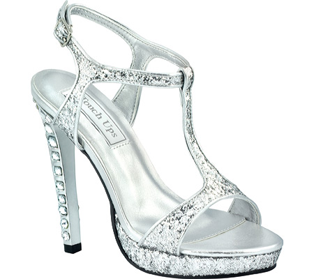 Women's Touch Ups Darcy II, Silver Glitter, large, image 1