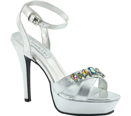Women's Touch Ups Dale, Silver Metallic, large, image 1