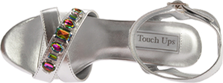 Women's Touch Ups Dale, Silver Metallic, large, image 6