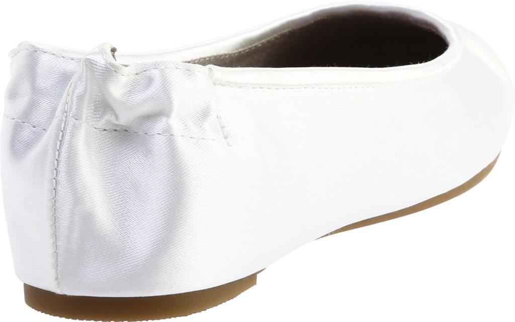 Women's Dyeables Bella, White Satin, large, image 4