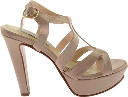 Women's Touch Ups Queenie II, Nude Patent, large, image 2
