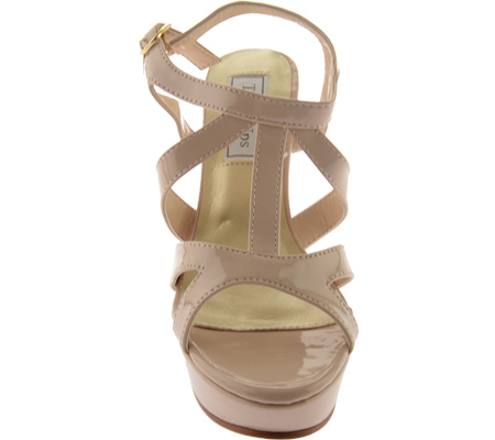 Women's Touch Ups Queenie II, Nude Patent, large, image 4
