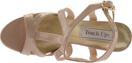 Women's Touch Ups Queenie II, Nude Patent, large, image 6