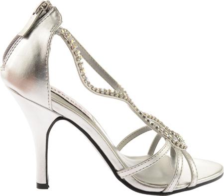 Women's Dyeables Josie 2, Silver Metallic, large, image 2
