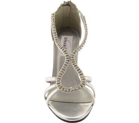 Women's Dyeables Josie 2, Silver Metallic, large, image 4